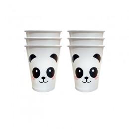 Copos de Papel Panda 08 Unidades