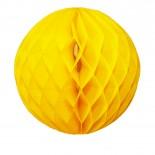Globo de Papel Amarelo 30cm