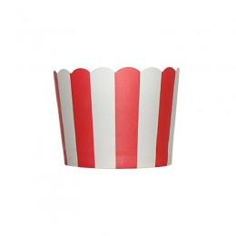 Forminhas para Cupcake de Papel Vermelho Vertical