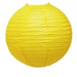 Luminária de Papel Amarela 35cm