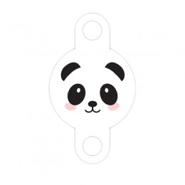 Enfeite para Canudo Panda