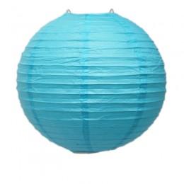 Luminária de Papel Azul 30cm