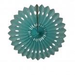 Leque de Papel Azul Claro 30cm