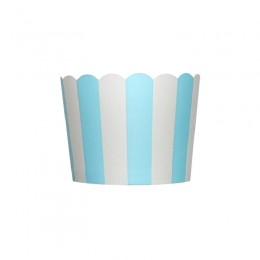 Forminhas para Cupcake de Papel Azul Claro Vertical
