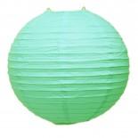 Luminária de Papel Verde Claro 35cm