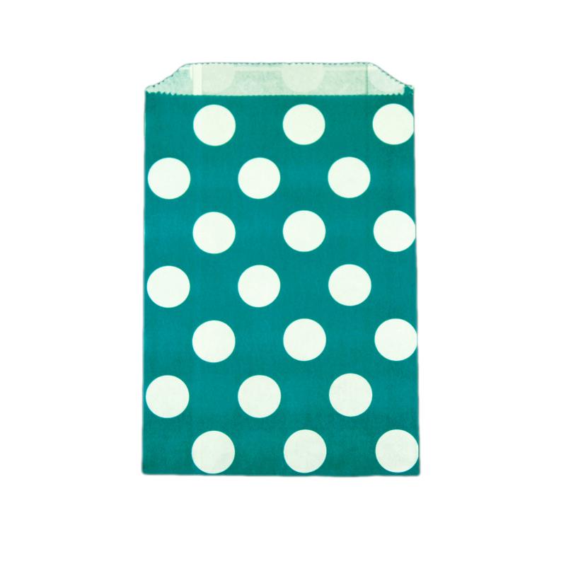 Saquinhos de papel azul turquesa po doce lulu for Papel pintado azul turquesa