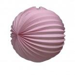 Acordeon de Papel Rosa Claro 25cm