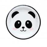 Prato de Papel Panda 19cm