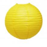 Luminária de Papel Amarela 30cm