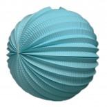 Acordeon de Papel Azul Claro 30cm