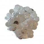 Confete Bolinha Laminado Prata 1,5cm com 15gr