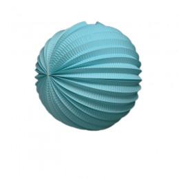 Acordeon de Papel Azul Claro 20cm