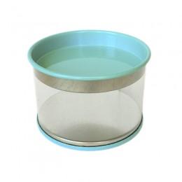 Lata de PVC Azul Claro