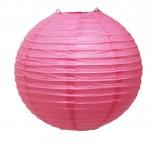 Luminária de Papel Rosa Pink 30cm