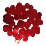 Confete Laminado Vermelho 15gr