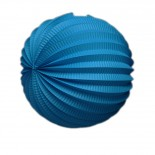 Acordeon de Papel Azul Escuro 25cm