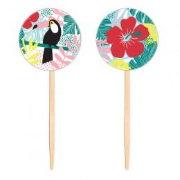 Topo para Cupcake Tropical