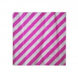 Guardanapo de Papel Listrado Rosa Pink 20 Uni