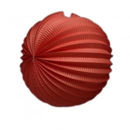 Acordeon de Papel Vermelho 25cm