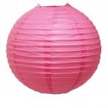 Luminária de Papel Rosa Pink 35cm