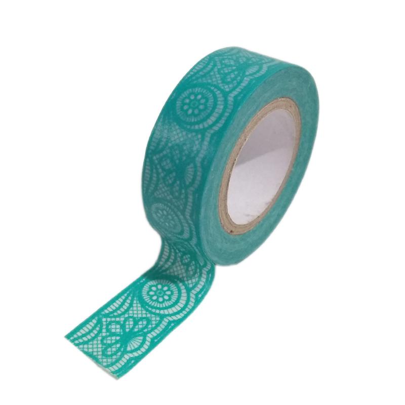 fc21e5f6fc Fita Adesiva Washi Tape Tiffany Rendada 7 metros. Loading zoom