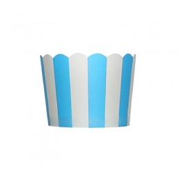Forminhas para Cupcake de Papel Azul Royal Vertical
