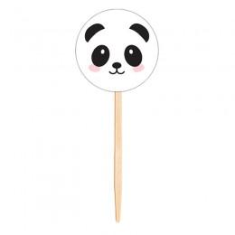 Topo para Cupcake Panda
