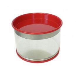 Lata de PVC Vermelho