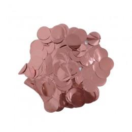 Confete Laminado Cobre Rose Gold
