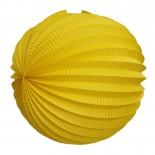 Acordeon de Papel Amarelo 30cm