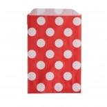 Saquinhos de Papel - Vermelho Poá