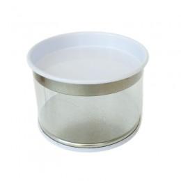 Lata de PVC Branco