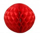 Globo de Papel Vermelho 24cm