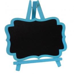 Cavalete de Madeira Azul Grande