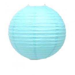 Luminária de Papel Azul Claro 25cm