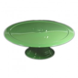 Boleira de Metal Verde Maçã 31x12,5cm