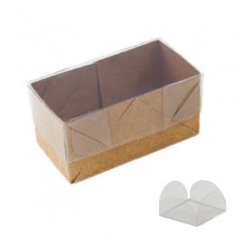 Caixas para Doces Kraft 2 lugares com 10un