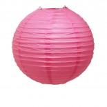 Luminária de Papel Rosa Pink 25cm