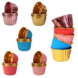 Forminhas para Cupcake Laminadas Kit com 100un
