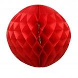 Globo de Papel Vermelho 30cm