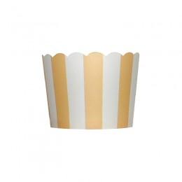 Forminhas para Cupcake de Papel Marfim Vertical