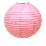 Luminária de Papel Rosa Claro 30cm