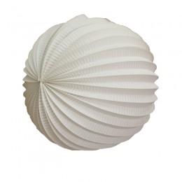 Acordeon de Papel Branco 25cm