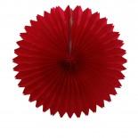 Leque de Papel Vermelho 40cm