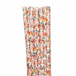 Canudos de Papel Flores Vintage