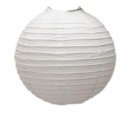 Luminária de Papel Branca 25cm