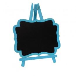 Cavalete de Madeira Azul Médio