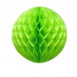 Globo de Papel Verde Limão 24cm