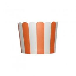 Forminhas para Cupcake de Papel Laranja Vertical