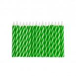Vela Palitinho Verde 6cm com 16un